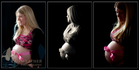 Maternity Collage with Window Light