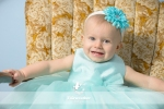 Cute baby girl blue dress