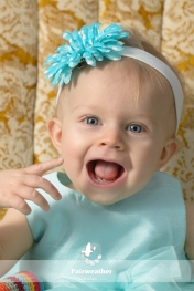 One year old Girl Portraits