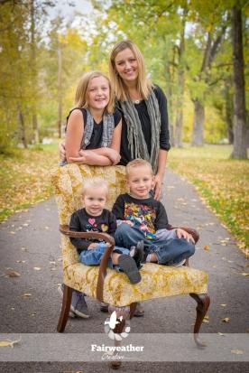 Fall Family Portraits - Family of 4