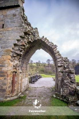 Broken arch - Bolton Abbey, Yorkshire, UK