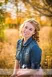 Fall Senior Girl Portrait