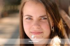Senior Girl Portrait Close Up