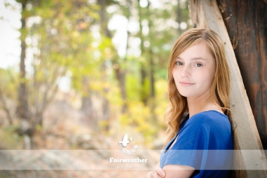 Senior Girl Portrait Outdoor