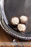 Herb cheese stuffed mushrooms