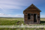 Abandoned Structure near Valier MT